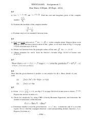 ENGG2420A Assignment 1