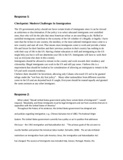 ETH125 modern challenges in immigration sample responses