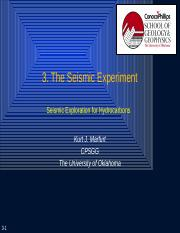 3. The Seismic Experiment.pptx