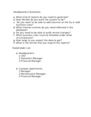 Headquarters Questions.docx