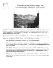 Journal Entry - Hetch Hetchy