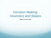 IntroDecisionMaking