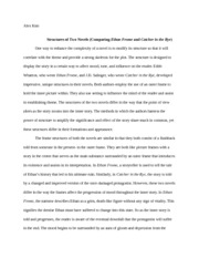 letter from a birmingham jail essay alex kim rhetorical usage  4 pages catcher in the rye vs ethan frome