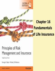 Chapter 16 Fundamentals of Life Insurance.ppt