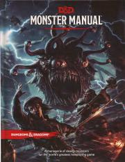 DnD 5e Monsters Manual