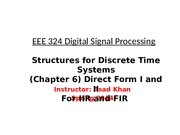 Flow Graph, DIRECT I DIRECT II,Transposed.pptx