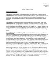 Food Sanitation Chapter 15 Notes.docx