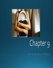 Chapter 9 Eating Disorders and Obesity Part 1.ppt
