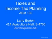 Taxes_and_Income_Tax_Planning_2012