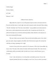 final fiction paper