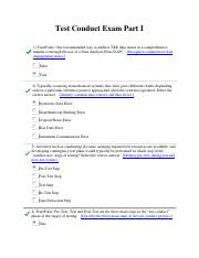 Test Conduct Exam Part I.pdf