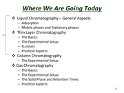 Slides for Separation by TLC and Column Chromatography-- Lectures 4 and 5(2)