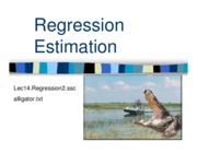 14 Regression #2