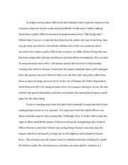 Protect and Serve Essay