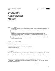Lab 4 uniformly accelerated motion.docx