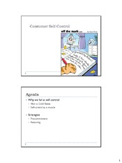 Session 13- Self-control-post class