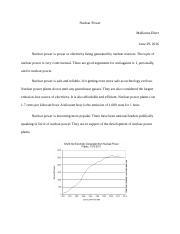 Final Project – Part VI; Nuclear Energy Position.docx