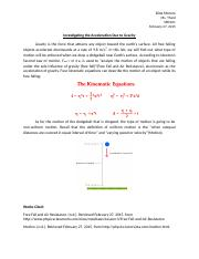 Introduction to Acceleration Due to Gravity.docx