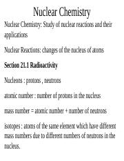 ch 23-nuclear chemistry