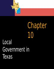 Chapter 10 Local Government in Texas (Students).pptx