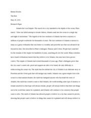 Atlantis research paper