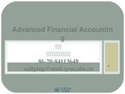 Advanced Accounting ch2