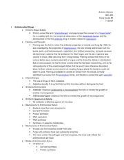 MIC 205 - Study Guide (Test 3)
