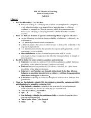 PSY 205 Exam #2 Study Guide.docx