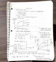 solow model notes Solow model of growth notes april 15, 2011 1 introduction what is a major de–ciency in the classical macroeconomics model it assumes that –scal policy will only change the.