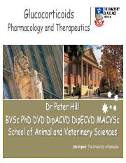 Glucocorticoid pharmacology Lectures(3)