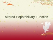 Hepatobiliary System