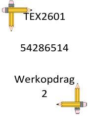 tex ass 2 pdf - TEX2601 54286514 Werkopdrag 2 Afdeling B