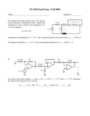 Final Exam with Solutions