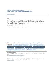 Race Gender and Genetic Technologies- A New Reproductive Dystop.pdf