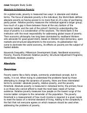Absolute & Relative Poverty Research Paper Starter - eNotes.pdf