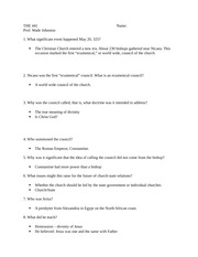 THE 441 Discussion Questions 2
