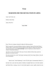 realism liberalism essay