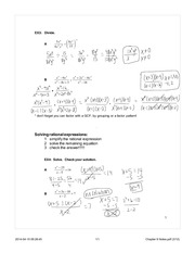 rational expression notes day 2