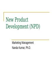 New Product Dev.ppt