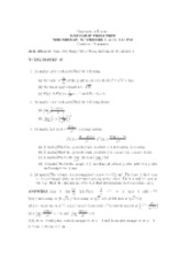 Calculus 1 Mid Term