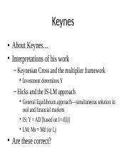 Keynes and Crisis Theory.pptx