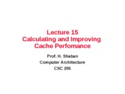 lec15_Claculation_Improving_Cache_Performance