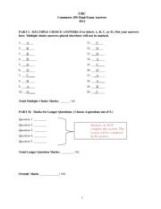 Final Exam Answers 2012