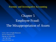5Ed_CCH_Forensic_Investigative_Accounting_Ch05