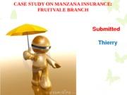 manzana insurance case analysis report