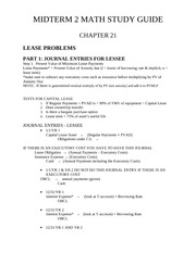 MIDTERM 2 MATH STUDY GUIDE