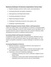 Marketing Challenges notes
