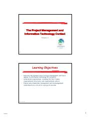 Chapter 2 - The Project Management and IT Context.pdf