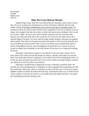 Walters amber rhetorical precise essay