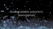 14 - Biodegradable polymers
